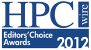 2012 Editors' Choice Award for Best Use of HPC in Financial Services